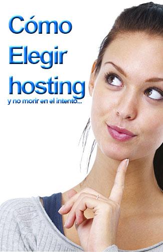 elegir hosting