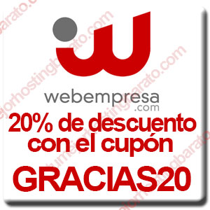 Cupon Webempresa