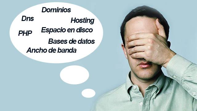 glosario vocabulario hosting alojamiento web